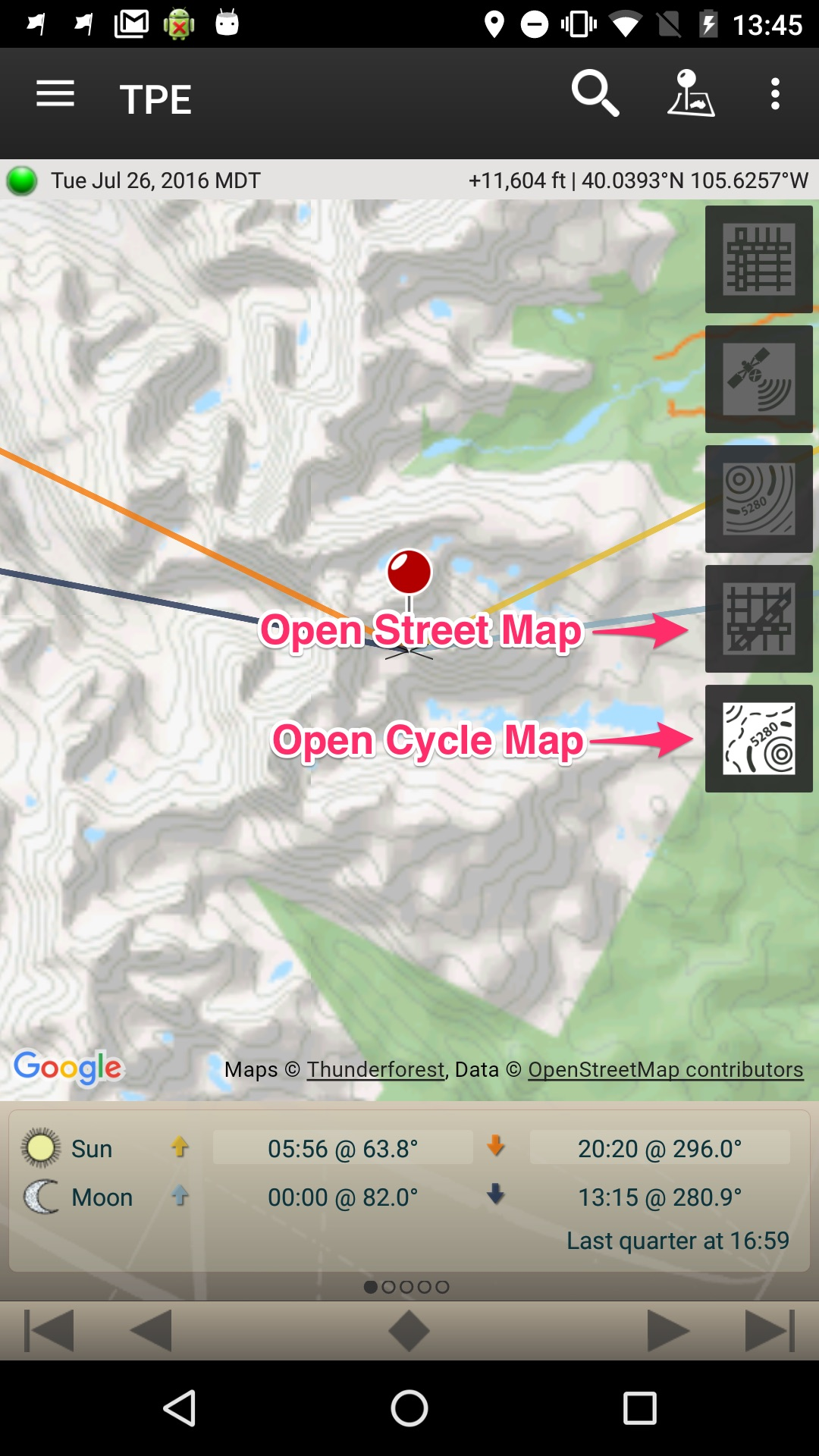 Can I Use TPE For Android While Offline Crookneck Apps - Offline us map